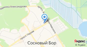 Ассоциация Граждане города Сосновый Бор на карте