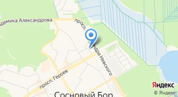 ОМВД России по Тихвинскому району Ленинградской области на карте