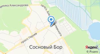 Атомтрудресурсы-Нева на карте