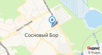 Домашний интернет Дом.ру в Сосновом Бору на карте