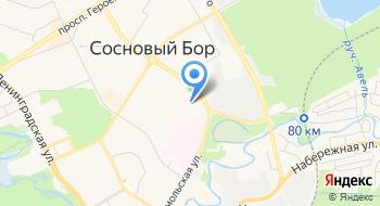 Петродизель на карте