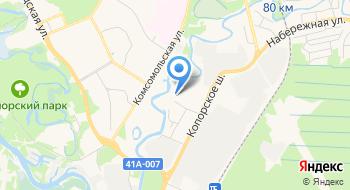 Сосновоборский РОСП на карте