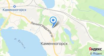 Детский сад г. Каменногорска на карте