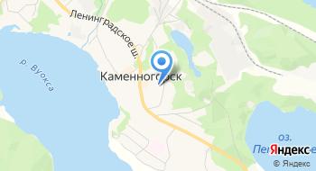 Информационно-культурно-досуговый центр МО Каменногорское Городское Поселение на карте