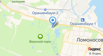 Большой Меншиковский дворец на карте
