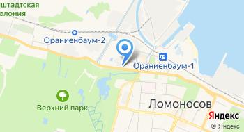 Русская ива на карте