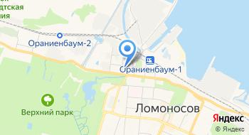 Петродворцовое оптово-розничное объединение Ломоносовский рынок на карте