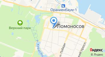 Часовня Серафима Саровского, Николая Чудотворца и Александры Царицы в Ломоносове на карте