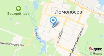 85 отдел полиции Петродворцового района г. Санкт-Петербурга на карте
