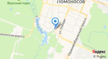 Ветеринарная станция Кировского, Красносельского и Петродворцового районов на карте