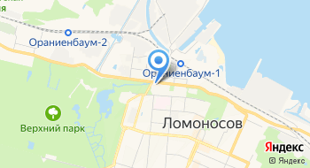 Прокуратура Петродворцового района Санкт-Петербурга на карте