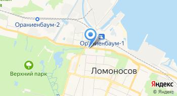 Администрация Муниципального образование г. Ломоносов на карте