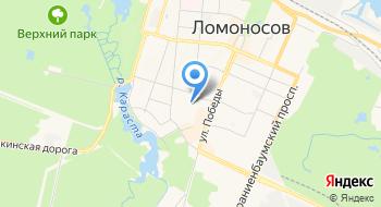 Петербургтеплоэнерг, химическая лаборатория на карте