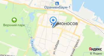 Администрация Ломоносовского Муниципального района на карте