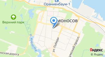 Гостехнадзор Ленинградской области Инспекция по Ломоносовскому району на карте
