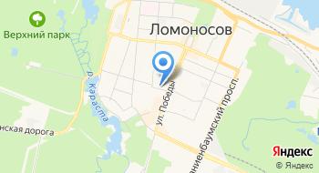 Государственное бюджетное общеобразовательное учреждение Гимназия № 426 Петродворцового района Санкт-Петербурга на карте