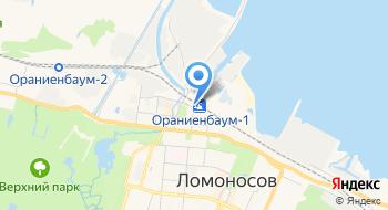Торговый комплекс на карте
