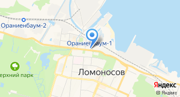 СПб Гбусон Цспсд Петродворцового района на карте
