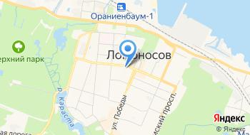 Территориальный отдел Управления Роспотребнадзора по Ленинградской области в Ломоносовском районе на карте