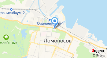 Ломоносовский городской дом культуры на Дворцовом на карте