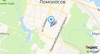 Геодезия СПб на карте