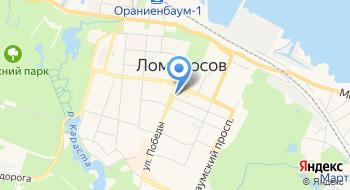 Такси Ломоносовское на карте