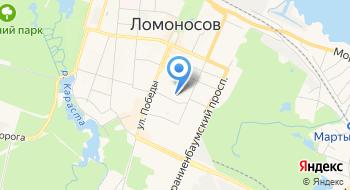 Межрайонная ИФНС № 8 по Ленинградской области на карте
