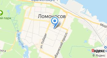 Комитет по образованию администрации муниципального образования Ломоносовский муниципальный район Ленинградской области на карте