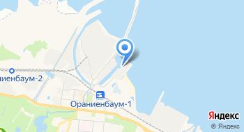 Гидрометеорологическая станция Ломоносов на карте
