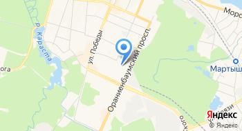 Государственное бюджетное общеобразовательное учреждение средняя общеобразовательная школа № 430 Петродворцового района Санкт-Петербурга на карте