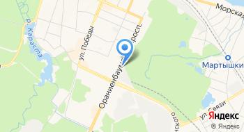 Гаражно-строительный кооператив Ораниенбаумский на карте