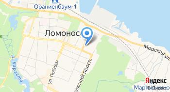 Ломоносовский морской колледж ВМФ на карте