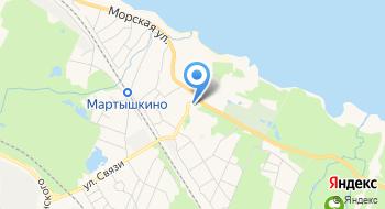 Продовольственный магазин Мартышкино на карте