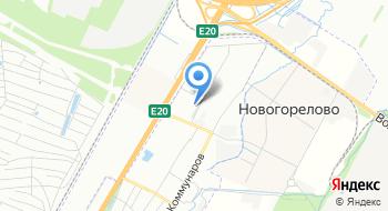 Предпортовый на карте