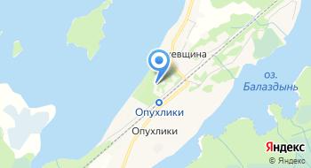 Санаторий Голубые озера на карте