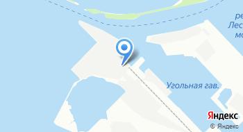 Петербургский нефтяной терминал на карте