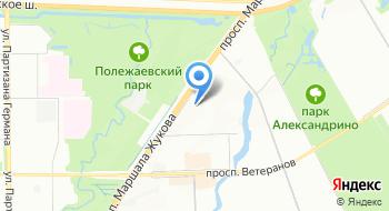 Комбинат питания Кировский на карте