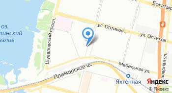 Автоинструктор СПЧ Приморский район на карте