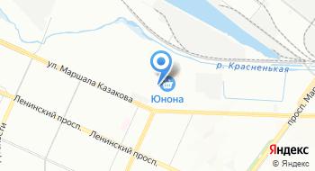 Каркан на карте