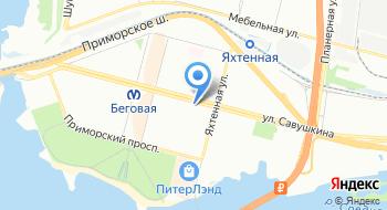 Контакт СПб на карте
