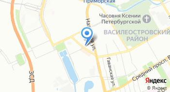 Балтийская Оконная компания (БВК) на карте