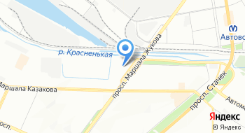 Магазин автоаксессуаров на проспекте Жукова на карте