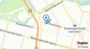 Отдел военного комиссариата города Санкт-Петербурга по Приморскому району на карте