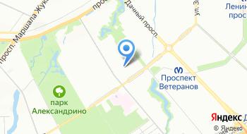 Автогруппа Северо-Запад на карте