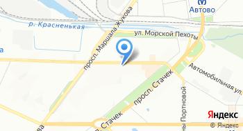 Велосипеды Velopiter.ru на карте