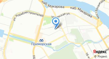 Школа-интернат № 576 на карте