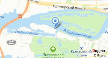 Санкт-Петербургская Международная яхтенная школа на карте
