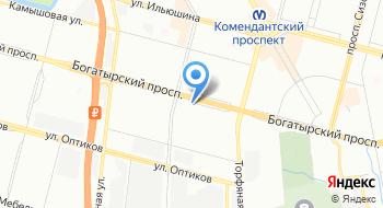 Автомобильный Ломбард Приморский на карте