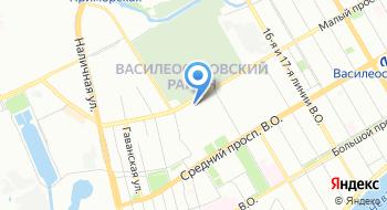 Центр спорта Василеостровского района на карте