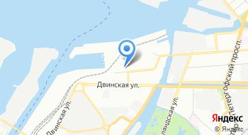 Метеостанция Невская порт на карте